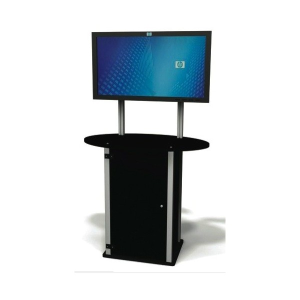 Trade Show Booth Kiosks : Lt plasma exhibitline kiosk