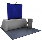 Premium 6ft Fabric Popup Tabletop