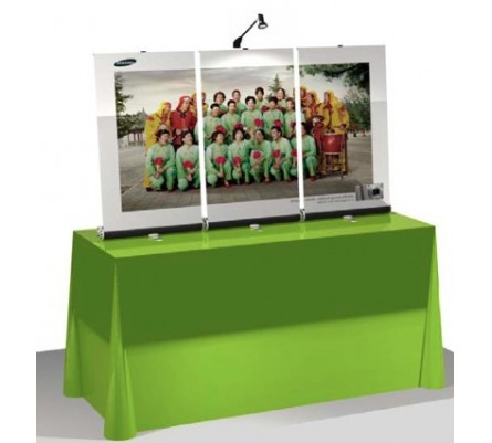 Retractable Banner Stand Tabletop Kit