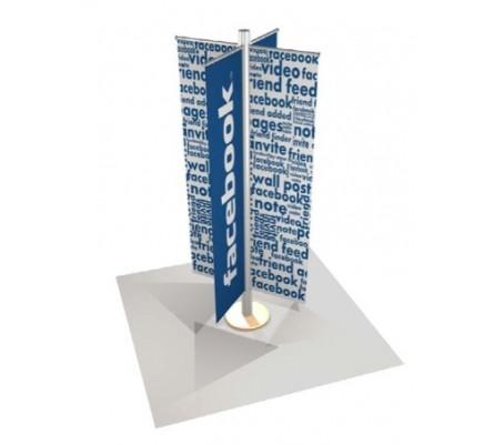 Euro Multi Banner Custom Modular Kiosk