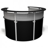Exhibitline RD45.6 Reception Trade Show Counter