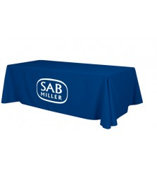 8ft Economy Table Cover with Perma Logo