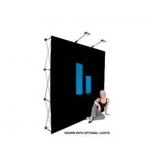 8x8 (8ft) Tension Fabric Popup Display