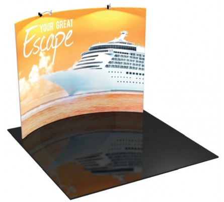 Formulate 10ft H2 Tension Fabric Display