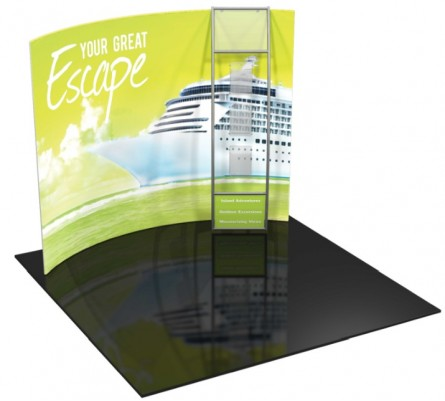 Formulate 10ft H4 Tension Fabric Display