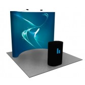 Premium 8x10 (10ft) Full Graphic Pop Up Display