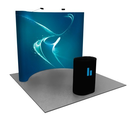 Premium 8x10 (10ft) Full Graphic Pop Up Display