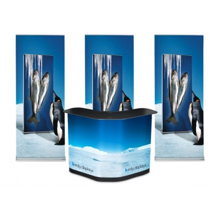 Roll Up Classic Retractable Banner Stand Kit
