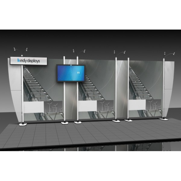 Exhibit Line 10x20 Aluminum Modular Trade Show Display 1 1 Kit