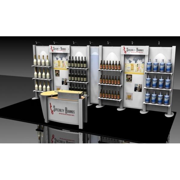 Custom Modular Exhibition Stands : Xrline custom modular display indydisplays