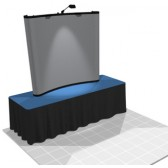 Nomadic 6ft (2x2) Pop Up Table Top Display Rental