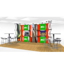 Xpressions Connex 10x20 Pop Up Displays Kit B