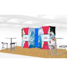 Xpressions Connex 10x20 Pop Up Displays Kit E