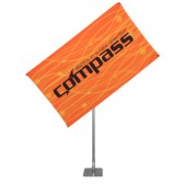"40"" x 75"" Compass Telescopic Rotating Banner Stand Kit 3"
