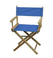Table Height Directors Chair - Sold Color Seat & Back