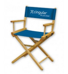 1 Color Perma Logo - Table Height Director Chair