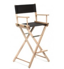Solid Color Seat & Back - Bar Height Director Chair