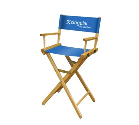 Cool 1 Color Perma Logo Bar Height Director Chair Onthecornerstone Fun Painted Chair Ideas Images Onthecornerstoneorg