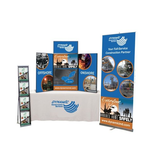 Classic Trade Show Table Top Display Package