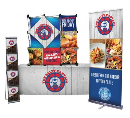Three Dimensional Table Top Display Package