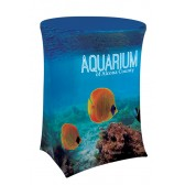 "42.5"" Round Stretch Dye Sub Table Cover"