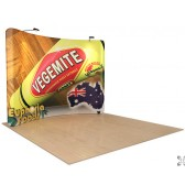 8' x 10' Waveline Tension Fabric Display