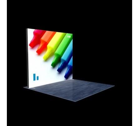 "120"" x 96"" (10ft) Modular Lightbox Display"