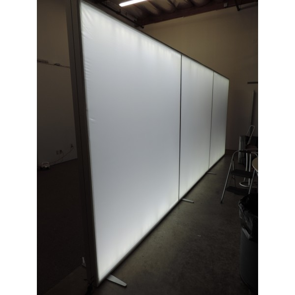 240 Quot X 96 Quot 20ft Modular Lightbox Backlit Trade Show Display