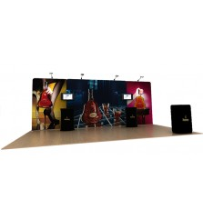 Waveline 20' Media Display Kit A