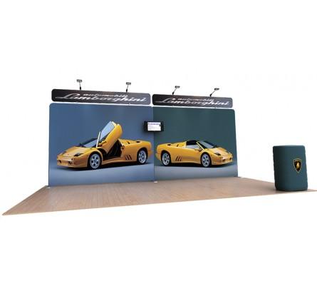 Waveline 20' Media Display Kit H