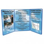 4ft Tri-Fold Graphic Tabletop Display