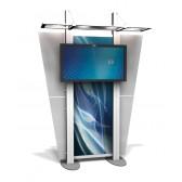 XRline xr.3 Custom Modular Trade Show Monitor Kiosk
