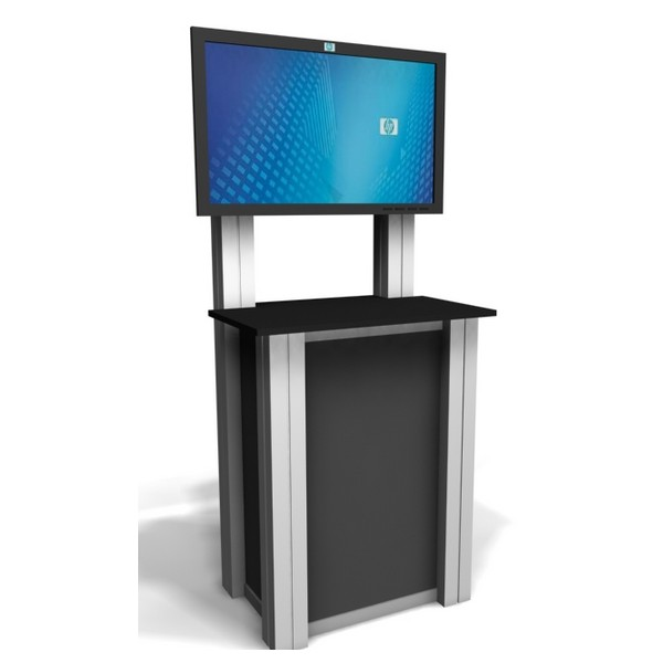 Trade Show Booth Kiosks : Xrline custom modular trade show kiosk