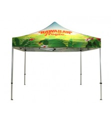 10' x 10' Full Dye Sublimation Printed Graphic Event Tent