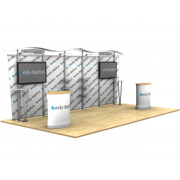 Custom Modular Exhibition Stands : Economy custom modular trade show display kit a