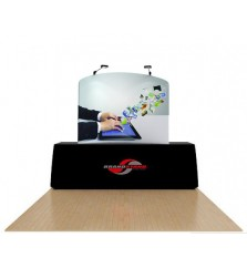 6ft Waveline Table Top Display