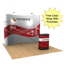 8' x 10' (10ft) Economy Pop Up Display Graphic Package