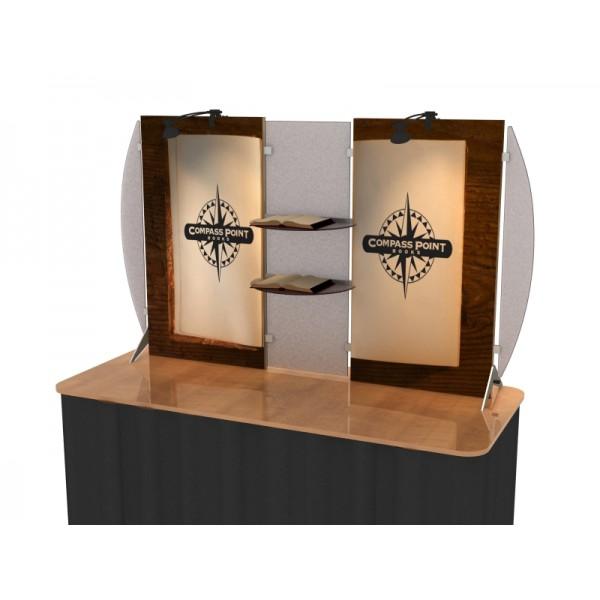 segue custom modular table top display vk 1852