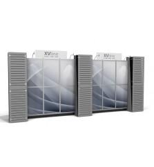 10' x 20' XVline Custom Modular Slatwall Display xv.5