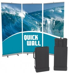 Quickwall Budget Retractable Banner Kit