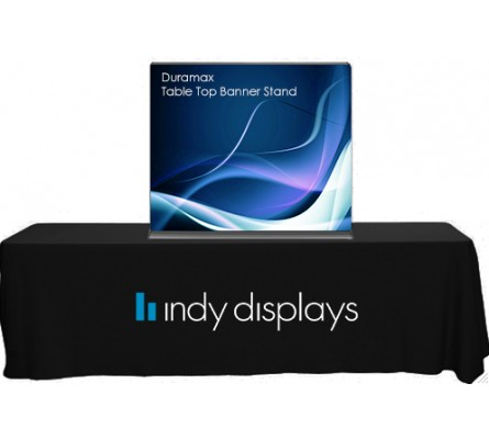 Duramax Retractable Banner Stand Table Top Display