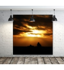 "60"" x 60"" Wall Mounted LED Light Box Display"