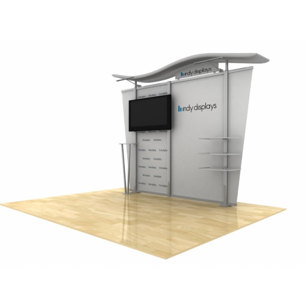 Expo Stands Economy : Ft economy modular monitor display kit