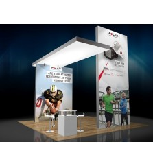 20' x 20' Matrix Light Box Island Tower Exhibit
