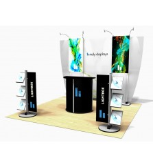 10'x10' Exhibitline Lightbox Modular Display Kit
