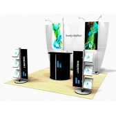 10'x10' Exhibitline Lightbox Modular Display Kit