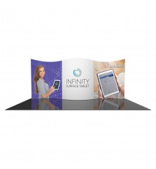 10'x20' Design Series Tension Fabric Display Kit 1