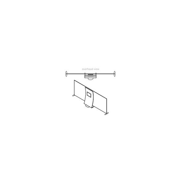 10 39 x20 39 design series tension fabric display kit 5 indydisplays. Black Bedroom Furniture Sets. Home Design Ideas