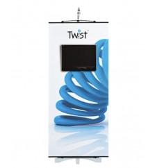 Twist Monitor Banner Stand