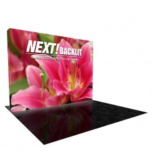 10' Next! Backlit SEG Fabric Lightbox Display
